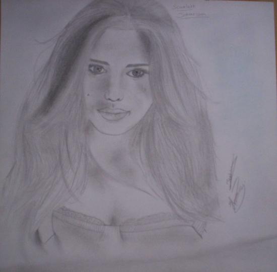 Scarlett Johansson par honorine12